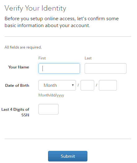 To Register For New Account