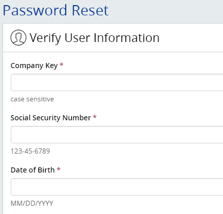 MyHTSpace create password