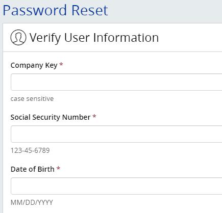 MyHTSpace create password