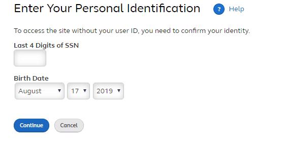 Forgot Mywmtotalrewards User ID or Password