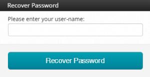 Recover Hallcon password