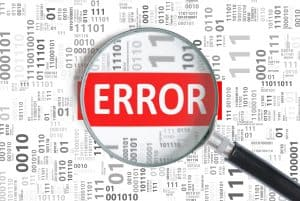 Error troubleshoot