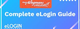 MyWegmansConnect Login Portal