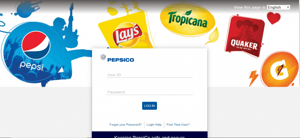 Mypepsico portal login