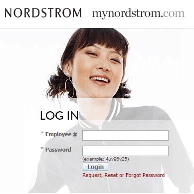 MyNordstorm.com employee Login Portal