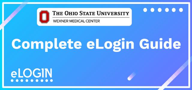 OSU OneSource | OSUWMC Employee Login Guide | eLogin