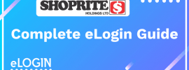 Shoprite Portal elogin