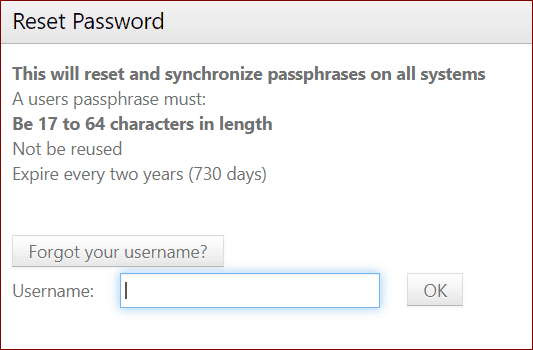 reset myNMSU password