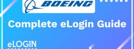 Boeing eLogin Guide