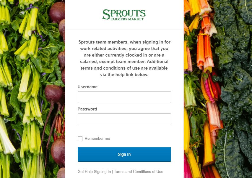 Sprouts Employee Login Portal