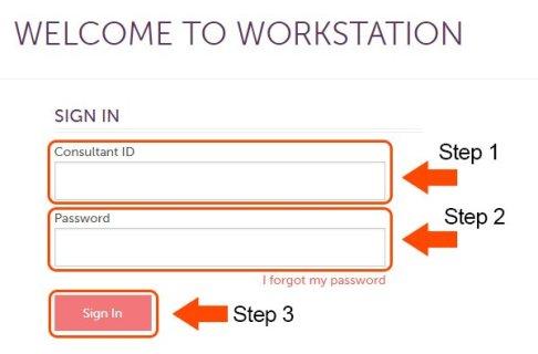 Scentsy Workstation Login Steps