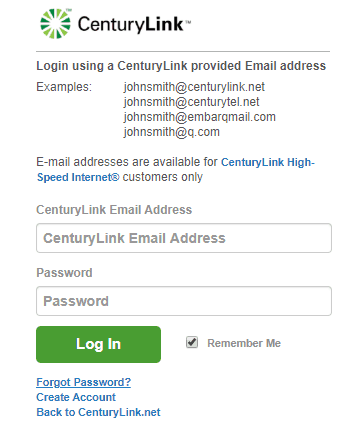 Embarqmail Login Page