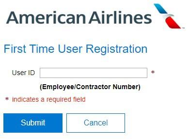 Wings USAirways Employee Login - Registration